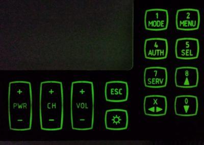 podświetlanie klawiatury diody LED backlighting
