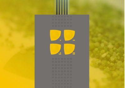 4klawiszowa żółty