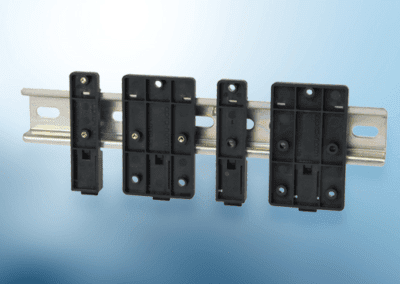 Apra Norm DIN rail clamp