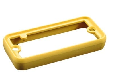 Hammond 1455-bezel-yellow