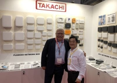 Leszek Czabak from LC Electronic in visiting Takachi