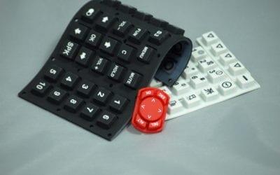 Rubber keypad