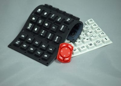 Rubber kleypad
