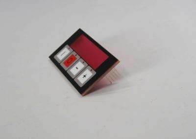 PCB keypad