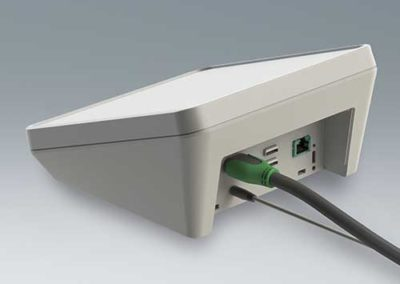OKW Protec connector mounting panel