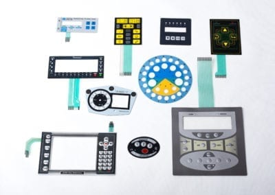 keypads - membrane switch