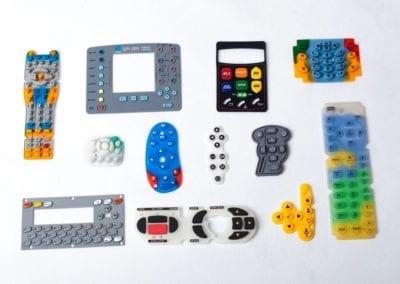 rubber keypads / klawiatury silikonowe
