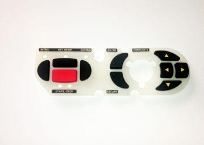 Rubber keypad / klawiatura silikonowa