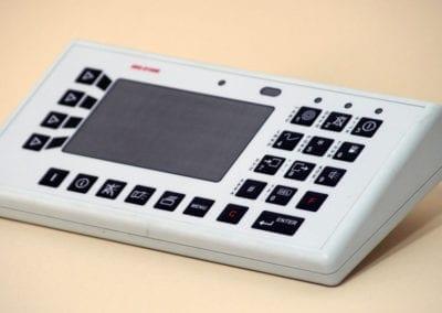 lcelektronik modyfikacje obudowa z klawiaturą i wyświetlaczem