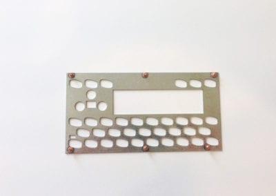 rigid board - steel, studs